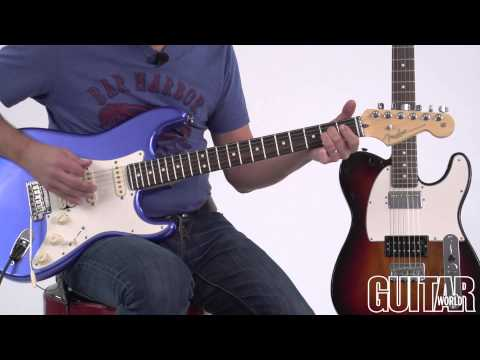 Fender American Standard Stratocaster HSS And Telecaster HH Guitars