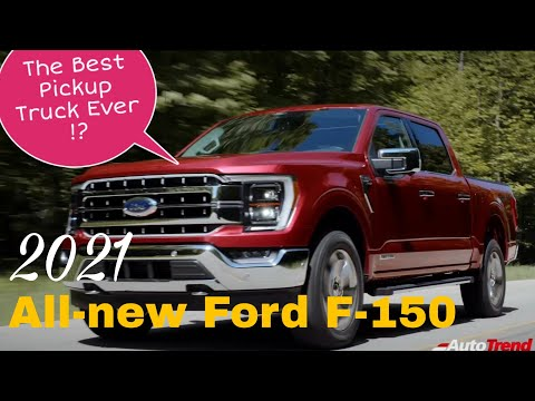 2021 All-new Ford F-150 - The Best Pickup Truck Ever !!
