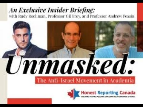 HRC Webinar on June 28: Unmasked: The Anti-Israel Movement in Academia