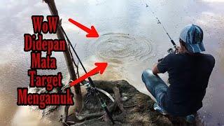 Pemancing Ini Tidak Menduga Dengan Hasil Tangkapanya Bisa dapat Ikan Seperti Ini