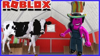 I've GOT VACHES! Roblox Welcome To Farmtown