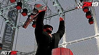 Смотреть AGT - WWE 2K19   ИНТЕРАКТИВ СО ЗРИТЕЛЯМИ - AGT SHOW (АЛЕКСАНДР РЕВВА: СМЕШНОЙ, НЕБРИТЫЙ И ПЬЯНЫЙ) онлайн