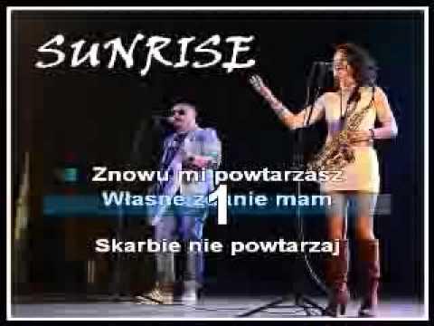 Sunrise   Moja kotka karaoke