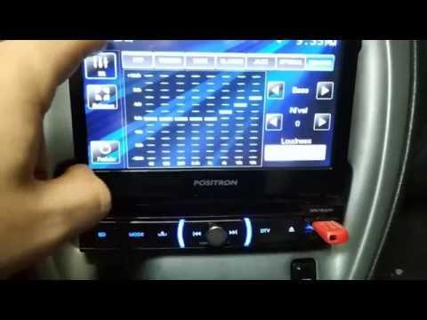 Positron SP 6730 DTV - DVD Player Retrátil / TV Digital / Bluetooth / USB