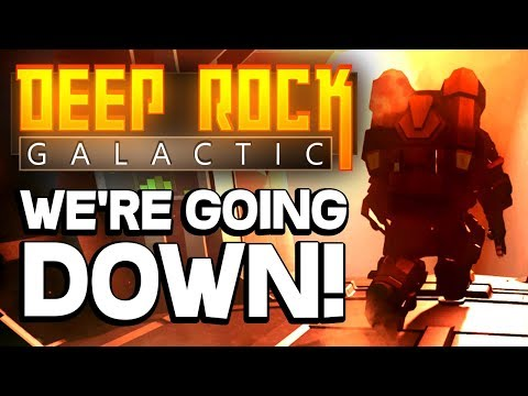 DANGEROUS SPACE MINING with DWARVES! - Deep Rock Galactic Multiplayer on Steam PC 2018