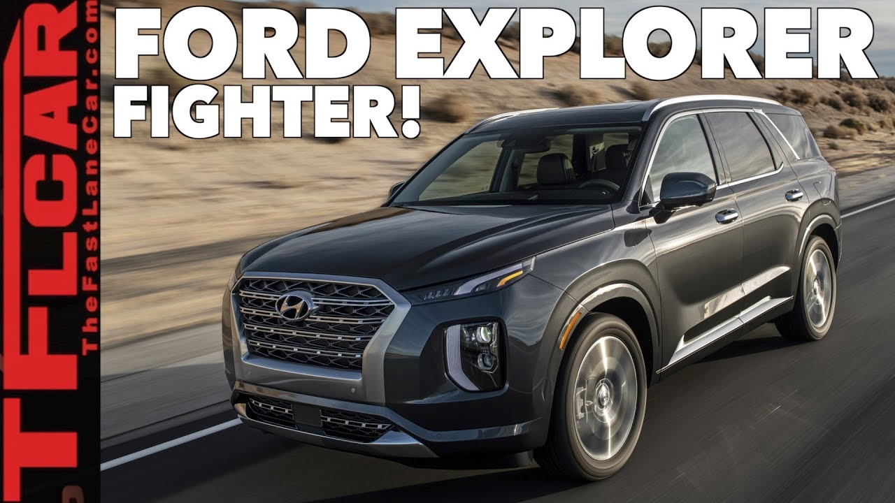 2020 Hyundai Palisade Most Family Friendly Three Row Suv Youtube