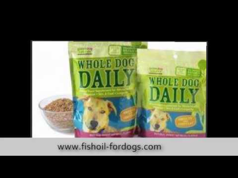 Fish Oil For Dogs Dosage