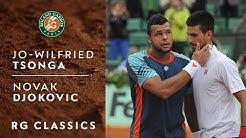 RG Classics - Jo-Wilfried Tsonga vs Novak Djokovic - 2012 | Roland-Garros