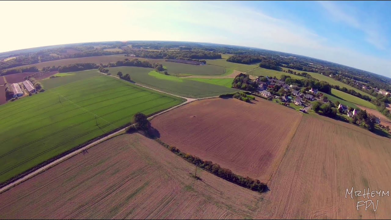 FPV over Brittany fields картинки