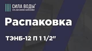 Розпакування - ТЕНБ-12 П 1½''