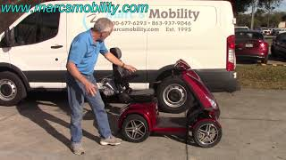 Drive Medical ZooME R4 Very Fast Scooter by Marc's Mobility