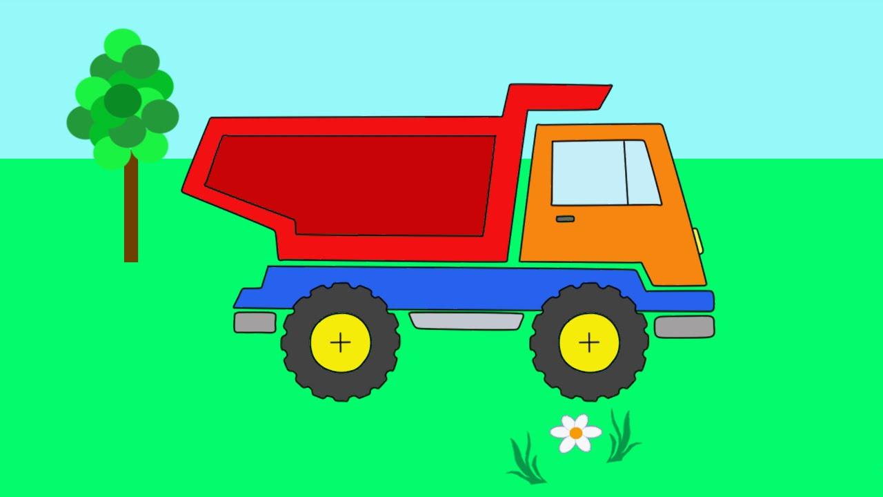 Мультфильм - Раскраска для малышей. #УчисьИграй Рисуем и ...