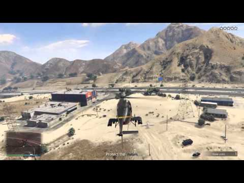 GTA 5 - Prison break heist demolition role