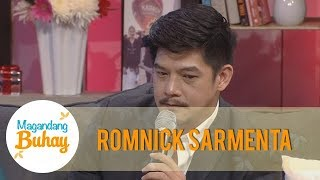 Magandang Buhay: Romnick tries to hold his tears while talking about his children
