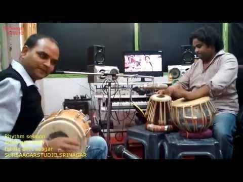 Dolak & Tabla RECORDING session by AMIT & ATUL SHAH