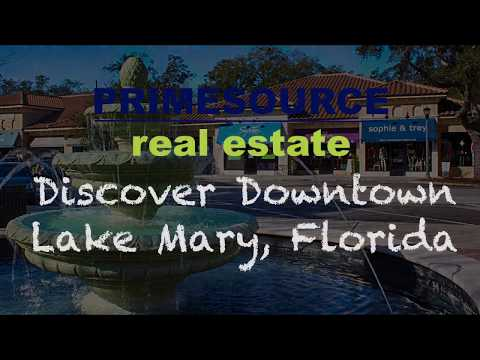 Discover Lake Mary Florida