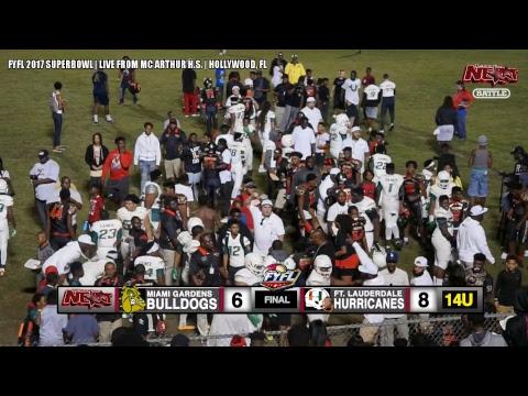 14U MIAMI GARDENS BULLDOGS (FOREIGN BOYZ) VS. 14U FT. LAUDERDALE HURRICANES