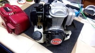 Honda gx35 (Китайская копия двигателя) обзор.