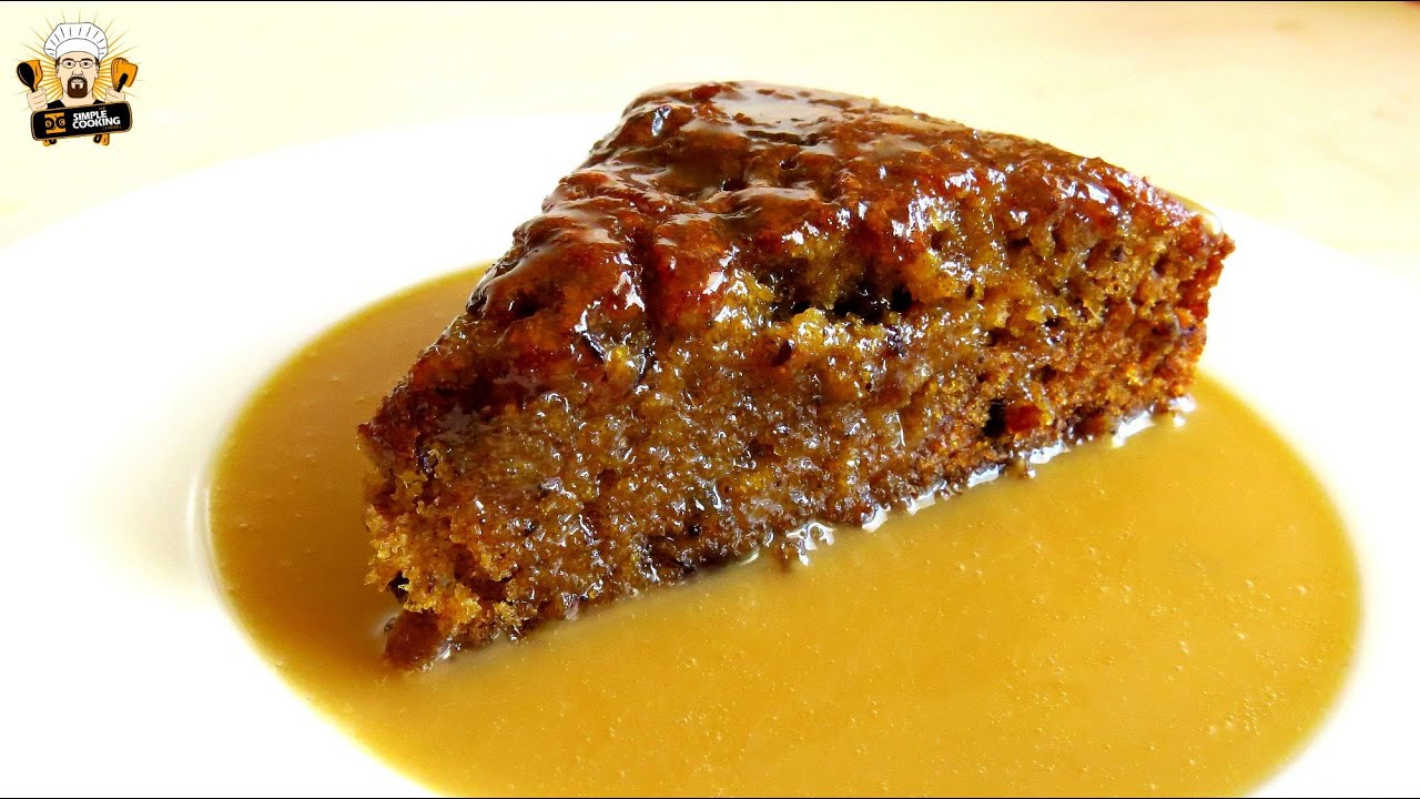 Sticky Date Pudding With Caramel Sauce Recipe Youtube