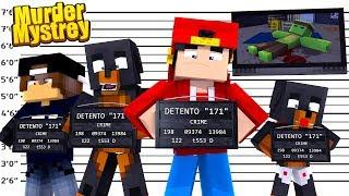 Minecraft Murder Mystery - WHO KILLED TINY TURTLE?!!!