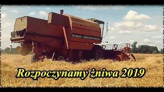 Zaczynamy żniwa 2019! Kosimy pszenżyto Deutz-Fahr M1322H