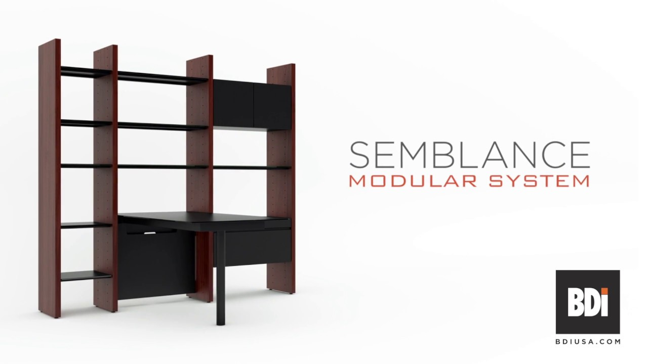 The Semblance Modular System From Bdi Furniture One System