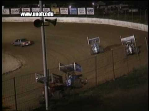 Sarah Fisher's First Time In A Sprint Car At Limaland