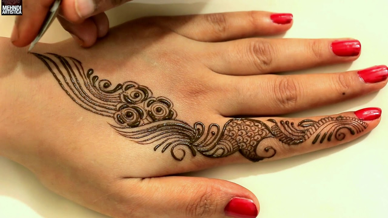 Mehndi Tattoo Designs: Watch If You Want To Learn Quick Mehndi Design Tattoo For