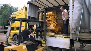видео Вентилятор дизеля Д180