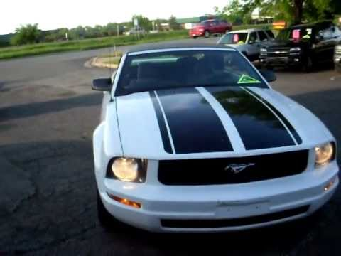 2007 Ford Mustang Convertible 4 0 Liter V6 Automatic New