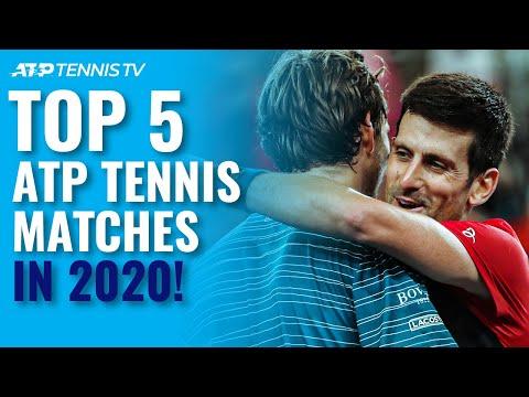 Top 5 ATP Tennis Matches in 2020 Season!