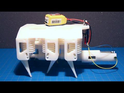 Printable Hydraulic Robots