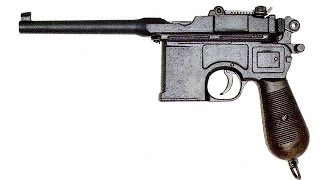 Пневматический пистолет Gletcher M712 Маузер (Mauser C96 / Schnellfeuer)