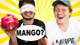 Can 2HYPE Guess Fruits while Blindfolded?