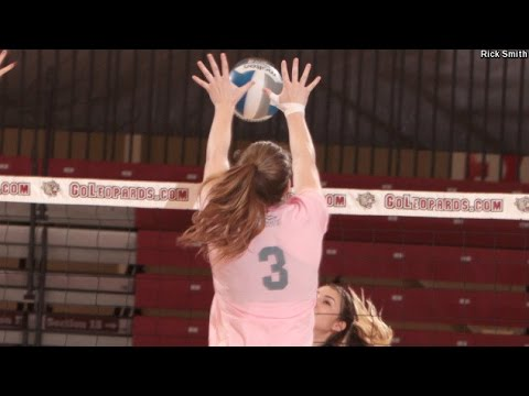 Highlights: Lafayette Volleyball at Holy Cross