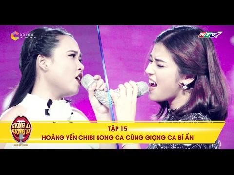 Kết quả hình ảnh cho Giọng ải giọng ai | tập 15: Màn trình diễn ngọt ngào của Hoàng Yến Chibi và cô nàng mũm mĩm
