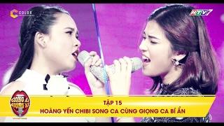 Giọng ải giọng ai   tập 15: Màn trình diễn ngọt ngào của Hoàng Yến Chibi và cô nàng mũm mĩm