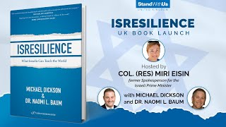 StandWithUs UK – Isresilience Book Launch