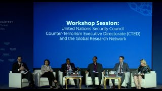 Workshop with the United Nations Security Council Counter-Terrorism Executive Directorate (CTED)
