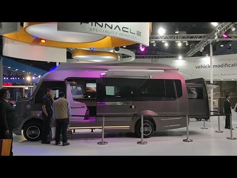 Super Luxurious House on Wheels from Pinnacle Will Spoil You Rotten  - Auto Expo 2018 #ShotOnOnePlus