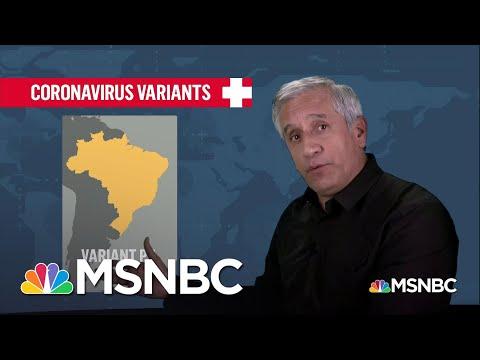 Dr. John Torres Breaks Down Details On the Covid Variants | MSNBC