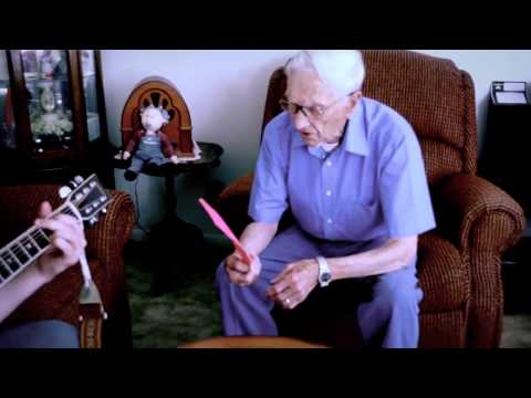 96-year-old man writes a love song for his recently deceased wife