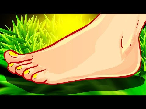 Walk Barefoot for 5 Mins a Day, See What Happens to You