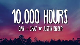 Dan Shay Justin Bieber 10 000 Hours Lyrics New English Song 2020 Lyrics Video - مهرجانات