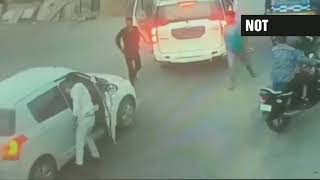 state-minister-son-thrashes-man-for-blocking-his-vehicle-assault-caught-on-cctvfootage-watch-it
