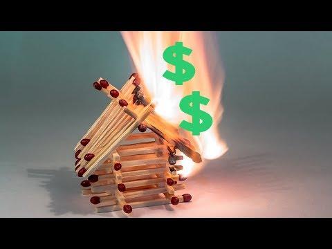 Lighting MONEY ON FIRE playing online poker cashgame