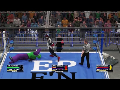 EPW Asylum EP 8 Part 1 Hell in a Cell Match