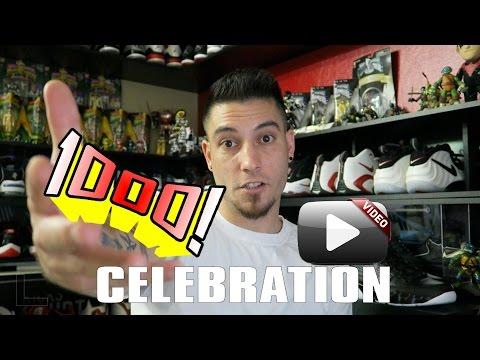 Celebrating 1000 Video Uploads!