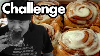 Matt Stonie vs 12 Cinnabon Challenge (11,000+ Calories)