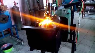 Pemotong Pipa Otomatis Dengan Gas part 2
